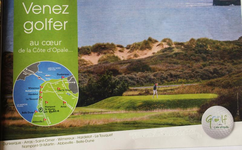 Golf sur la côte d'Opale